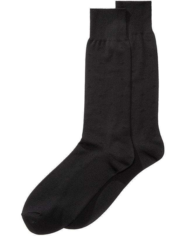 Perry Ellis Portfolio Perry Ellis Men's Microfiber Dress Socks
