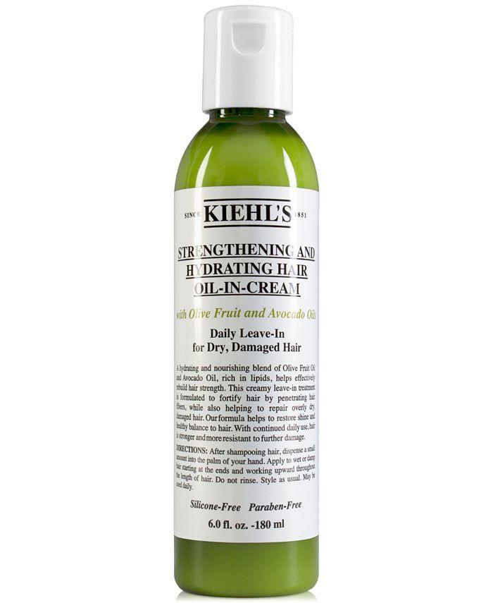 Kiehl's Since 1851 - Strengthening & Hydrating Hair Oil-In-Cream, 6-oz.