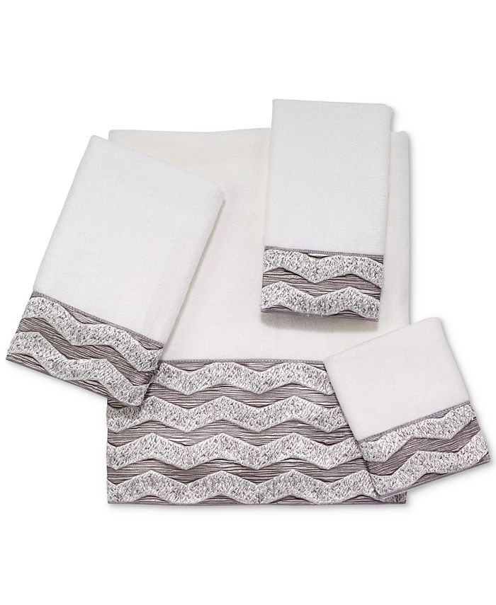 "Avanti - Galaxy Chevron 16"" x 30"" Hand Towel"