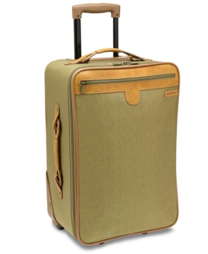 "Hartmann Suitcase, 21"" Packcloth Mobile Traveler Rolling Upright"