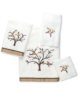 Friendly Gathering Cotton Embroidered Bath Towel