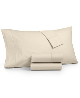 Martha Stewart Collection 3 Pc Twin Sheet Set 400 Thread Count 100 Cotton Percale Created For Macy S Reviews Sheets Pillowcases Bed Bath Macy S
