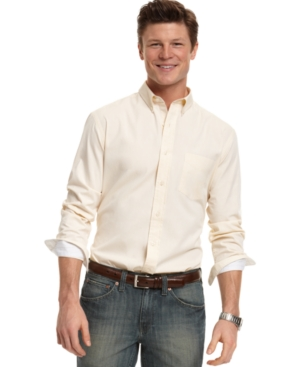 Club Room Shirt, Estate Solid Woven