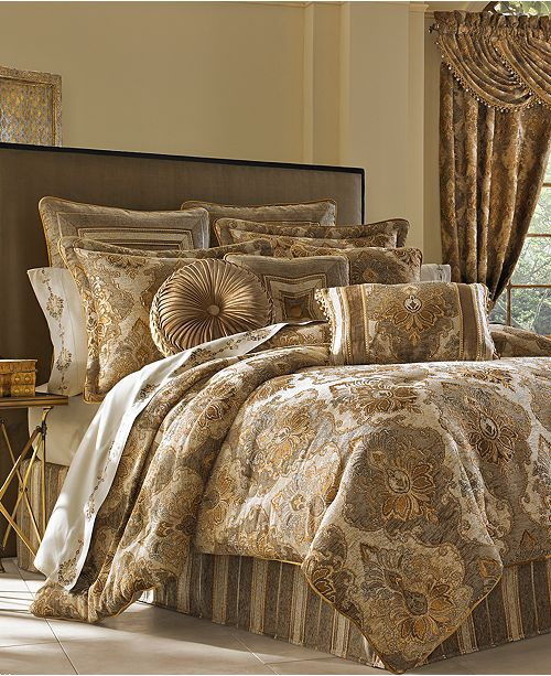J Queen New York Bradshaw 4 Pc. Queen Comforter Set & Reviews