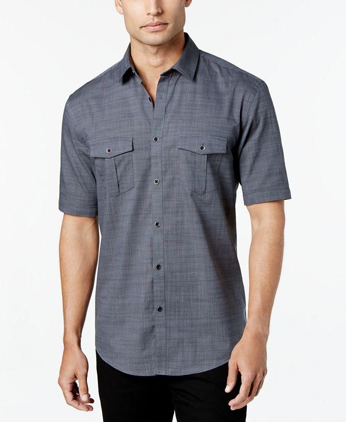 Alfani - Warren Solid Textured Shirt