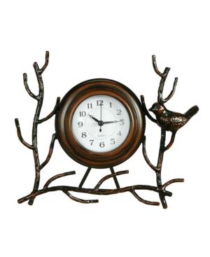 Califonia Floral Clock, Bird Mantel