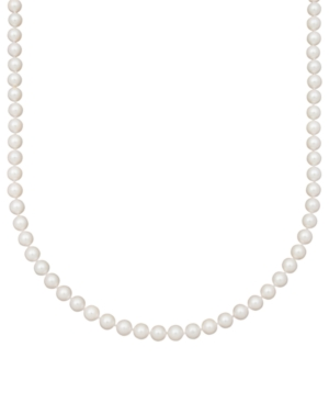 """Belle de Mer Pearl Necklace, 16"""" 14k Gold A+ Cultured Akoya Pearl Strand (6-1/2-7 mm)"""