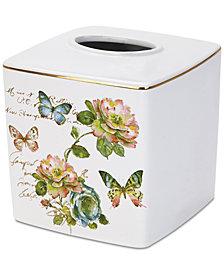 Avanti Butterfly Garden Tissue Cover