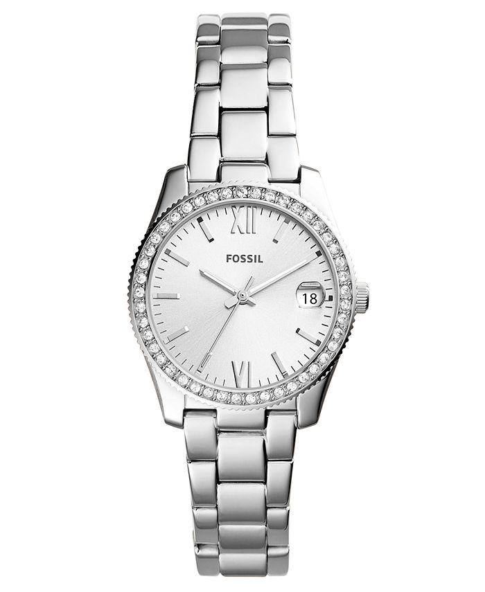 Fossil - Women's Scarlette Stainless Steel Bracelet Watch 32mm