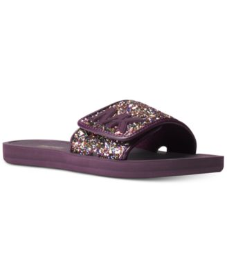 Michael Kors MK Slide Flat Sandals