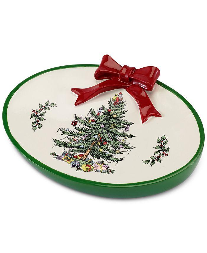 Spode - Christmas Tree Soap Dish