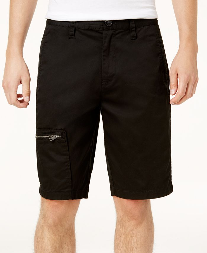 A|X Armani Exchange - Men's Flat-Front Shorts
