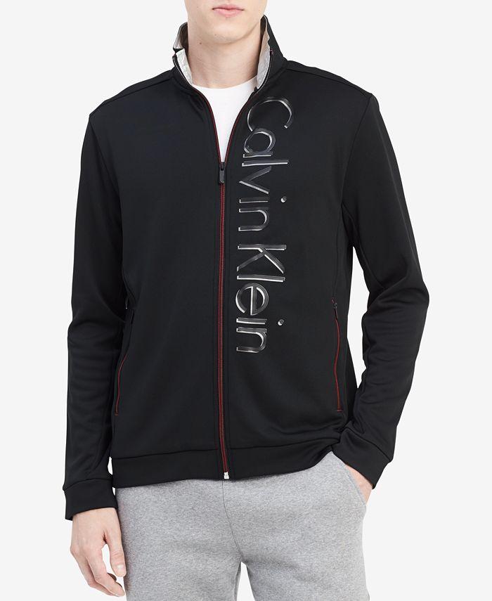Calvin Klein - Men's Zip-Front Fleece Jacket