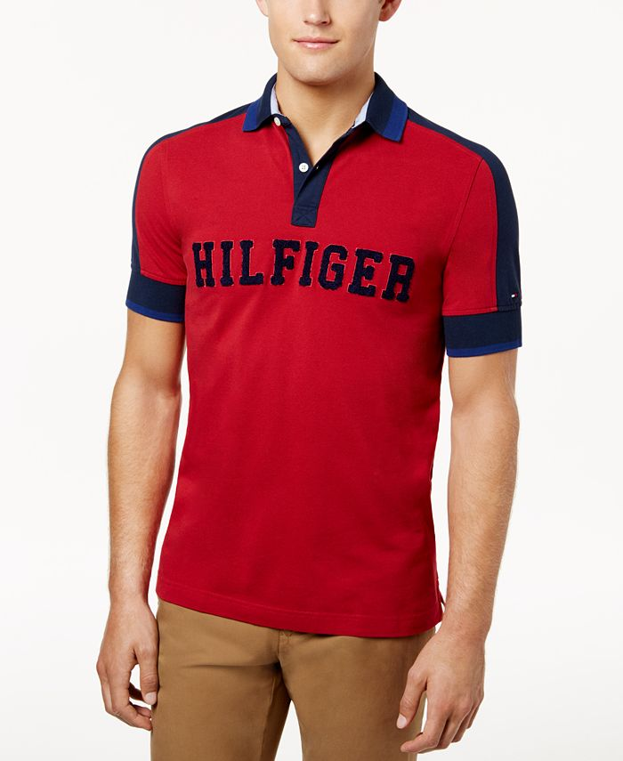 Tommy Hilfiger - Men's Custom-Fit Jessie Polo