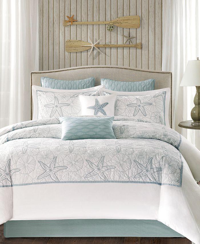 Harbor House - Maya Bay 200-Thread Count 4-Pc. California King Comforter Set