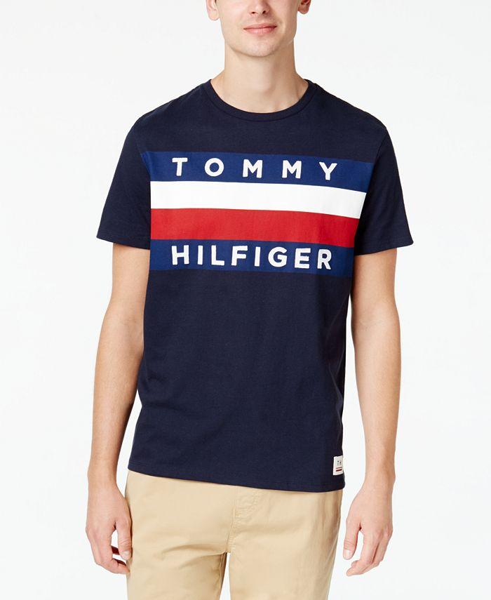 Tommy Hilfiger - Men's Graphic-Print T-Shirt