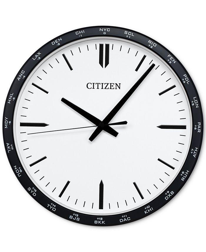 Citizen - Gallery Black Wall Clock