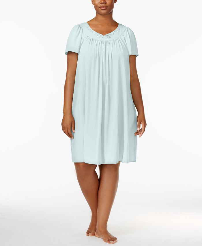 Miss Elaine - Tricot Flutter Sleeve Gown