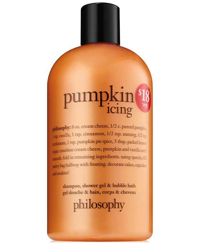 philosophy - pumpkin icing shower gel
