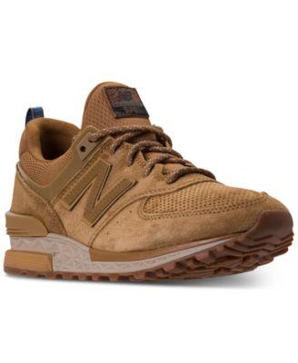 Balance Men's 574 Suede Casual Sneakers