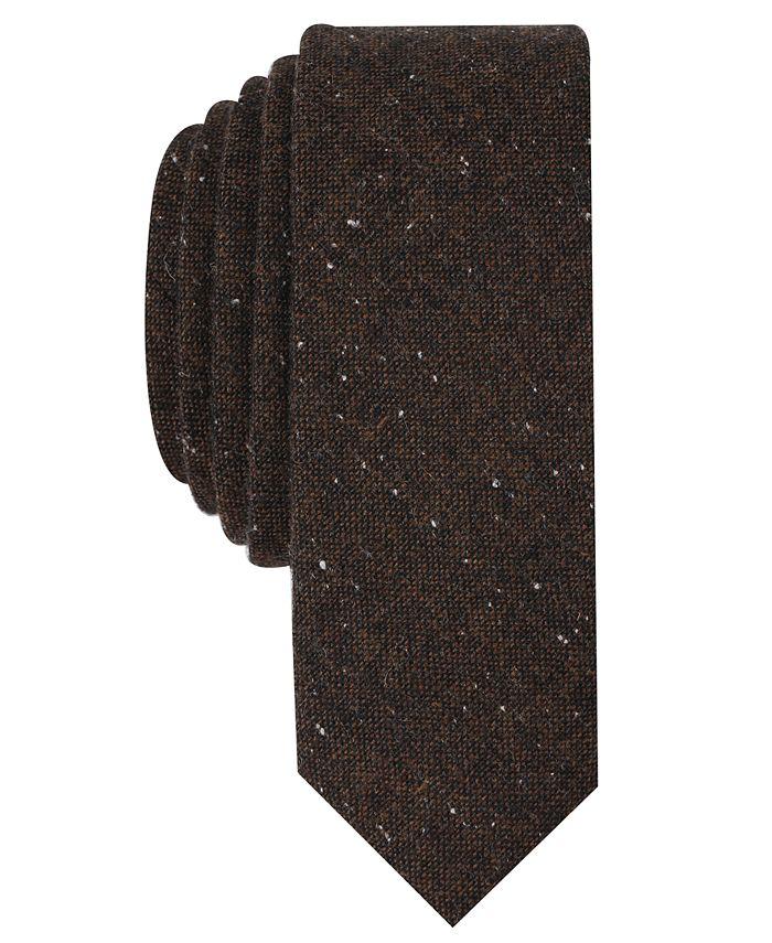 Original Penguin - Men's Fawne Donegal Skinny Tie