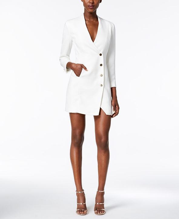 Bardot Asymmetrical Blazer Dress
