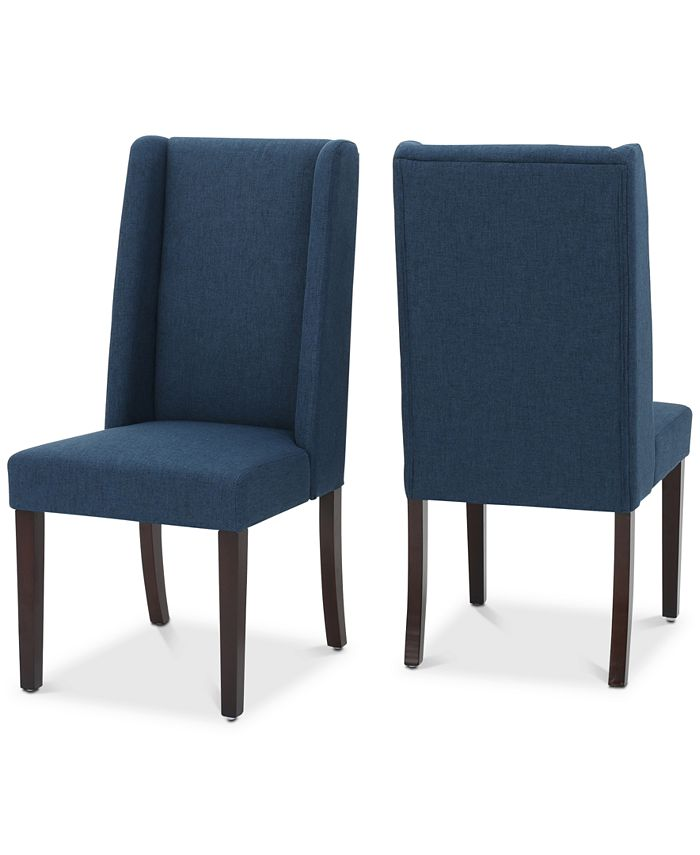 Noble House - Cannen Dining Chair (Set of 2), Quick Ship