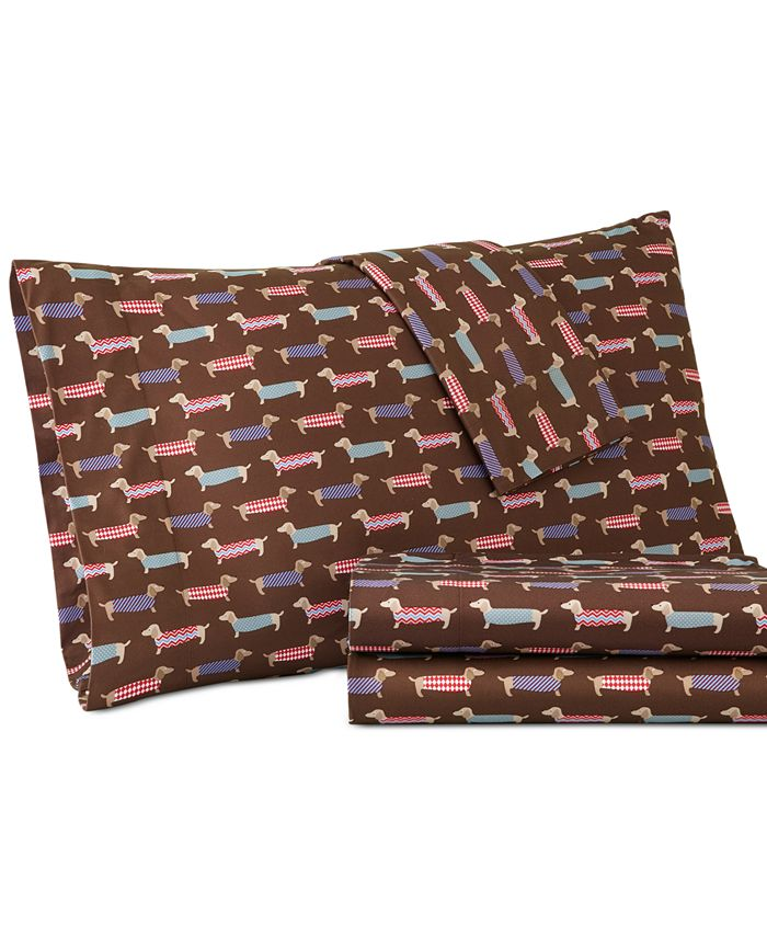 Shavel - Microflannel Printed Queen Sheet Set