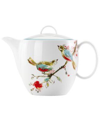 Lenox Simply Fine Chirp Teapot