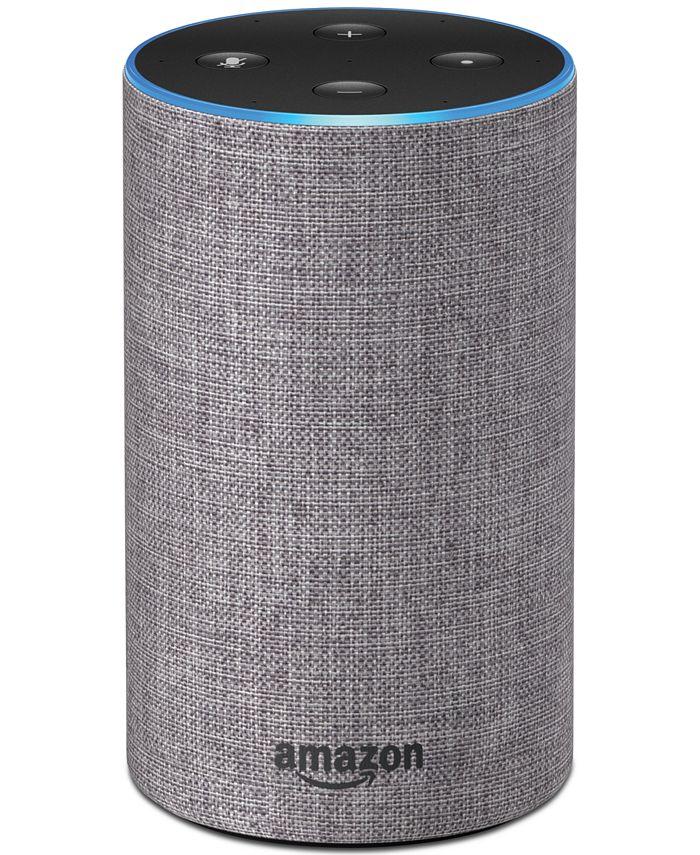 Amazon - Echo Second-Generation Alex-Enabled Speaker