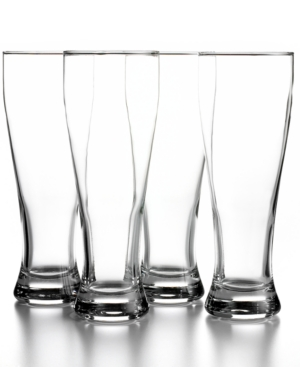 The Cellar Glassware, Set of 4 Large Beer Glasses