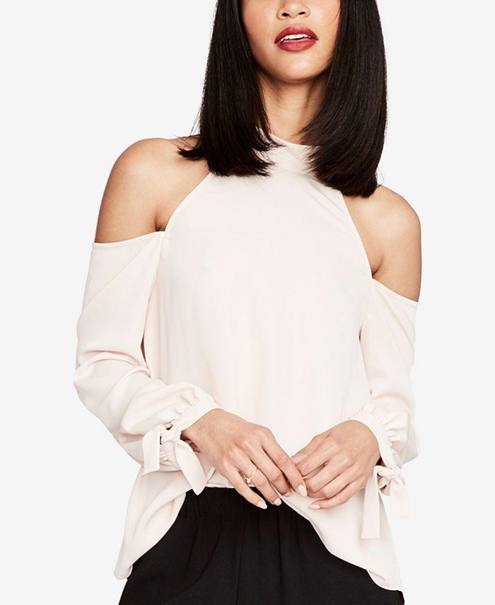 RACHEL Rachel Roy - Cold-Shoulder Shirt