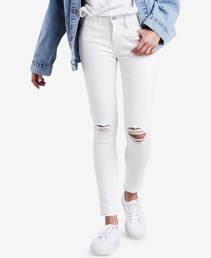 Levi's - 710 Super Skinny Jeans, Tranquil Ridge Wash