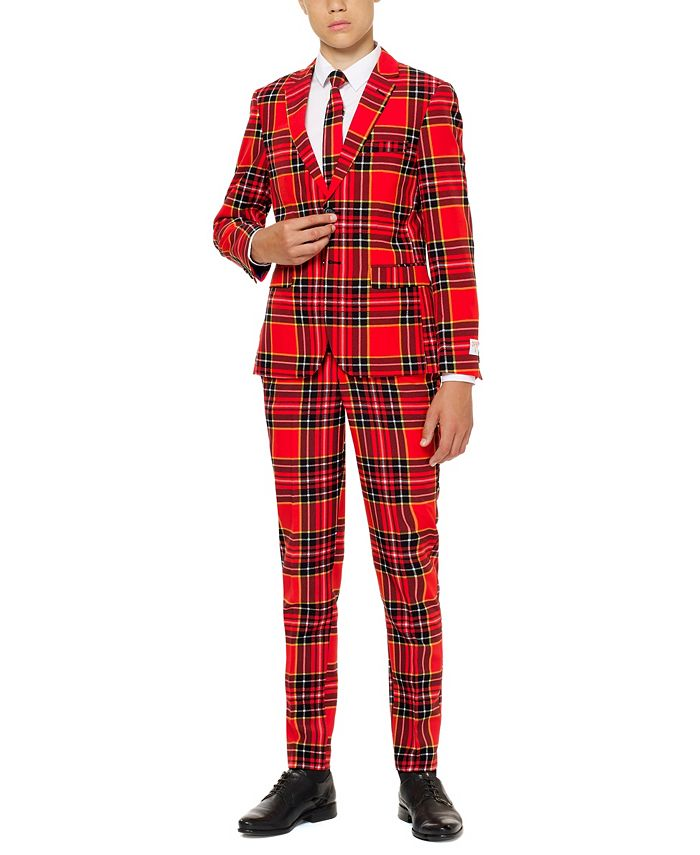 OppoSuits - Little Boys 3-Pc. The Lumberjack Suit & Tie Set