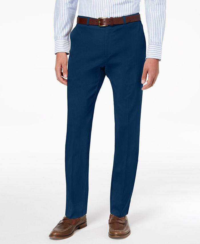 Tommy Hilfiger - Men's Modern-Fit TH Flex Stretch Comfort Dress Pants