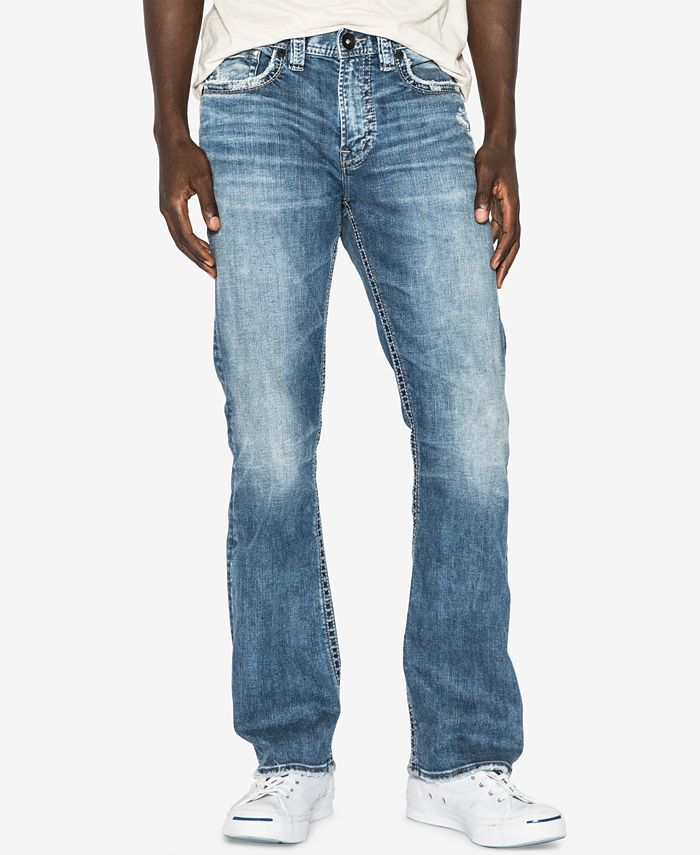Silver Jeans Co. - Men's Craig Easy-Bootcut Fit Stretch Jeans