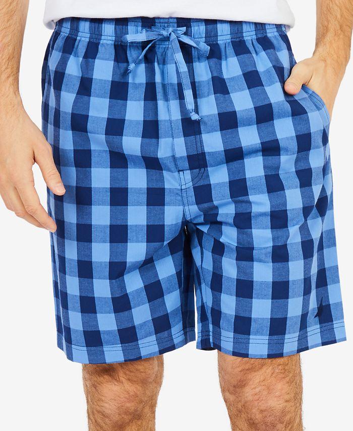 Nautica - Men's Buffalo Plaid Pajama Shorts