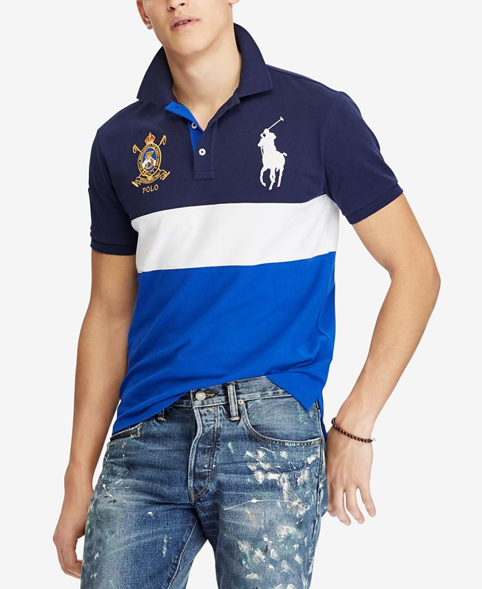 Polo Ralph Lauren - Men's Custom Slim Fit Mesh Polo