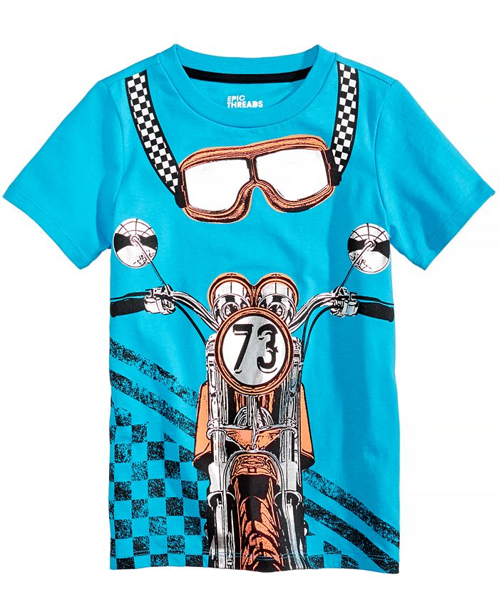 Epic Threads - Graphic-Print T-Shirt, Little Boys (2-7)
