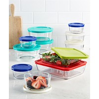 22-Piece Pyrex Food Storage Container Set