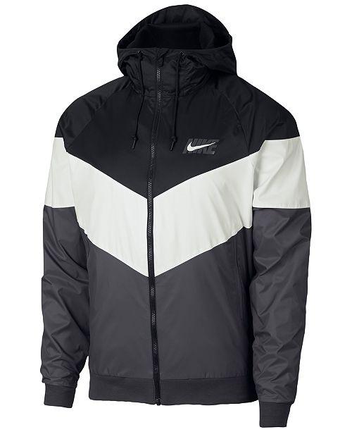 Nike Men's Sportswear Windrunner Jacket & Reviews - Coats ...