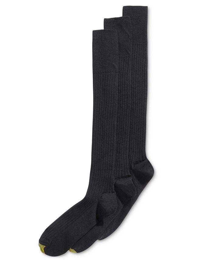 Gold Toe - Men's 3-Pk. Premier Over-Calf Socks