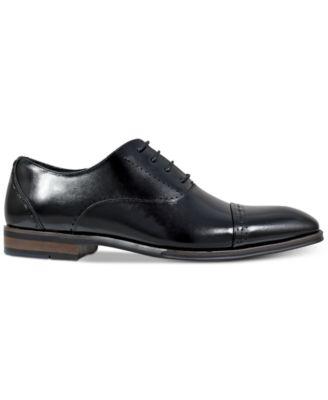 Barris Cap Toe Leather Oxfords