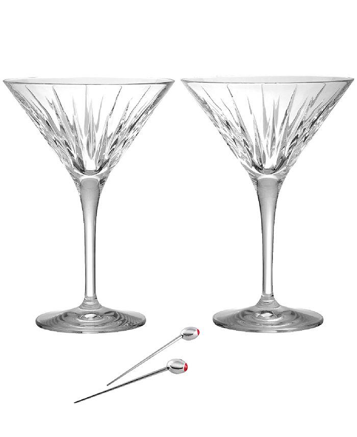 Reed & Barton - Soho Martini Glasses
