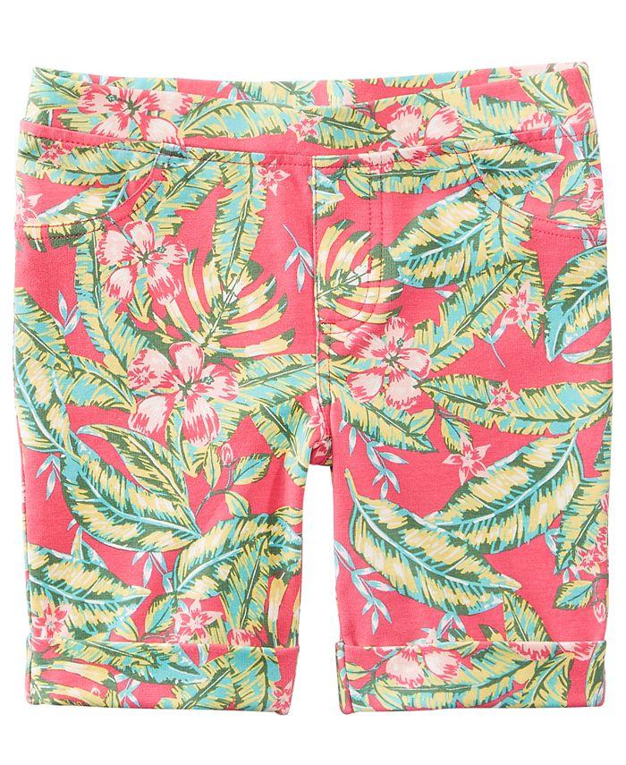 Epic Threads - Tropical-Print Bermuda Shorts, Toddler Girls