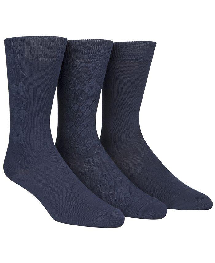 Calvin Klein - Socks, 3-Pack Rayon from Bamboo Dress Socks