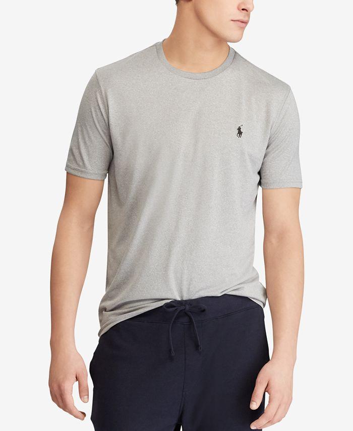 Polo Ralph Lauren Men's Active Fit Performance T-Shirt & Reviews ...