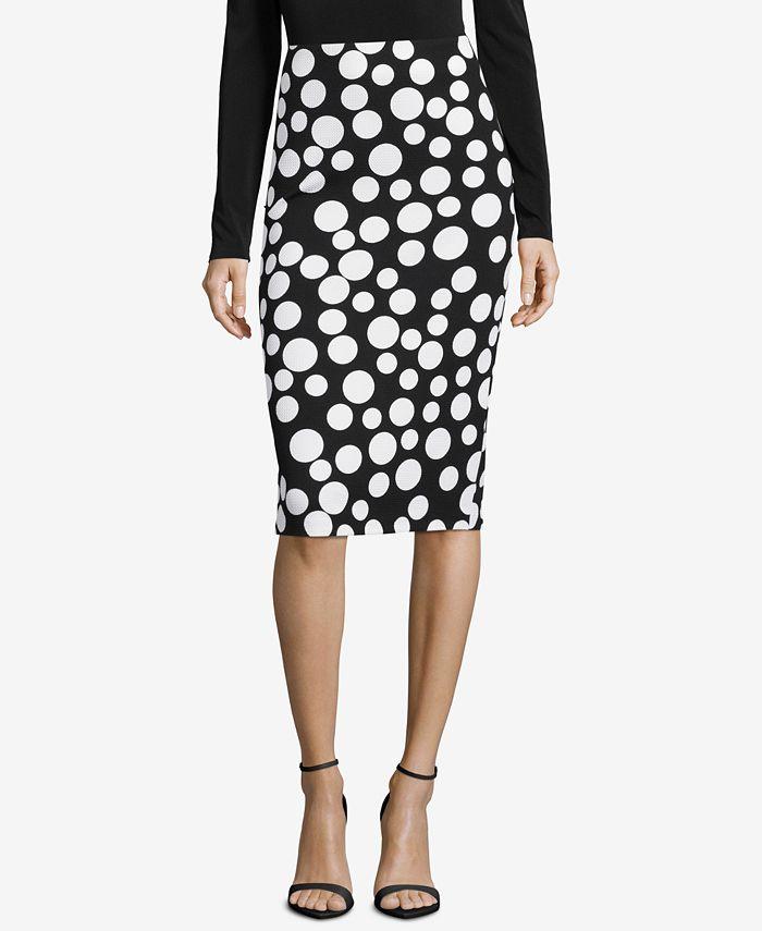 ECI - Printed Pencil Skirt