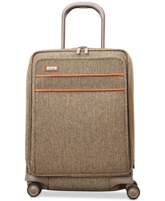 "Tweed Legend 21"" Domestic Carry-On Expandable Spinner Suitcase"