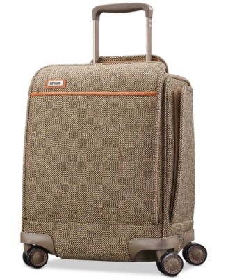 "Tweed Legend 16.5"" Underseat Carry-On Spinner Suitcase"